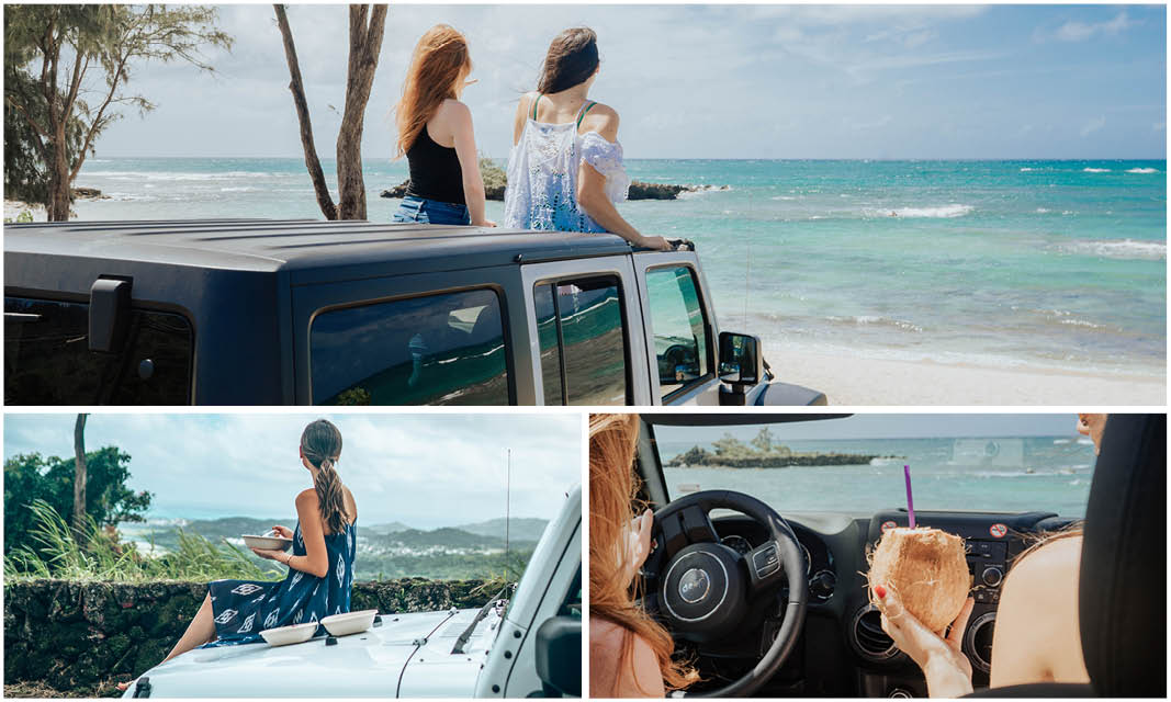 Jeep in Hawaii